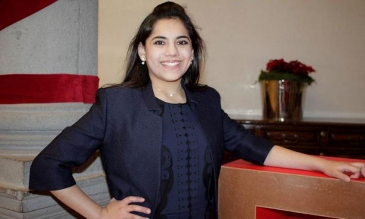 Dafne Almazán es la mexicana de menor edad en concluir una maestría en Harvard