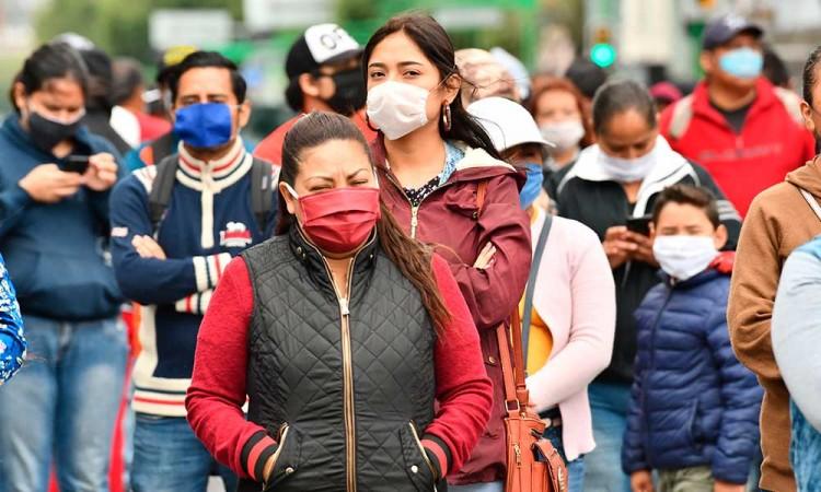 Covid-19: México reporta jornada de 4,790 contagios y 587 defunciones