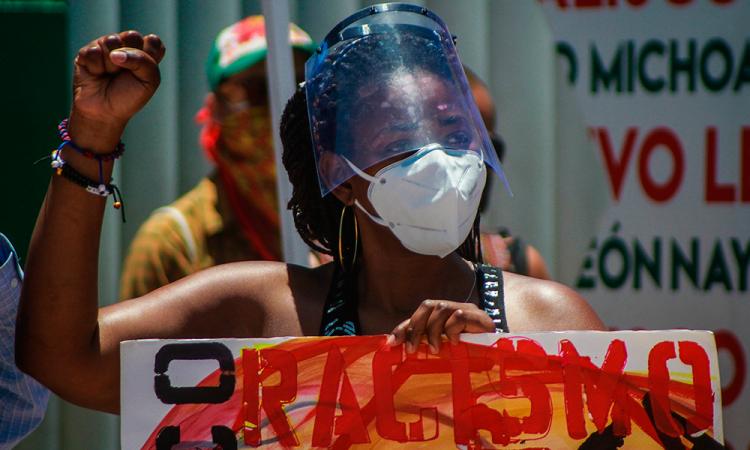 Piden un alto al racismo en Tijuana