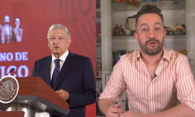 Es como invitar a torturador a hablar de Derechos Humanos: AMLO sobre Chumel Torres
