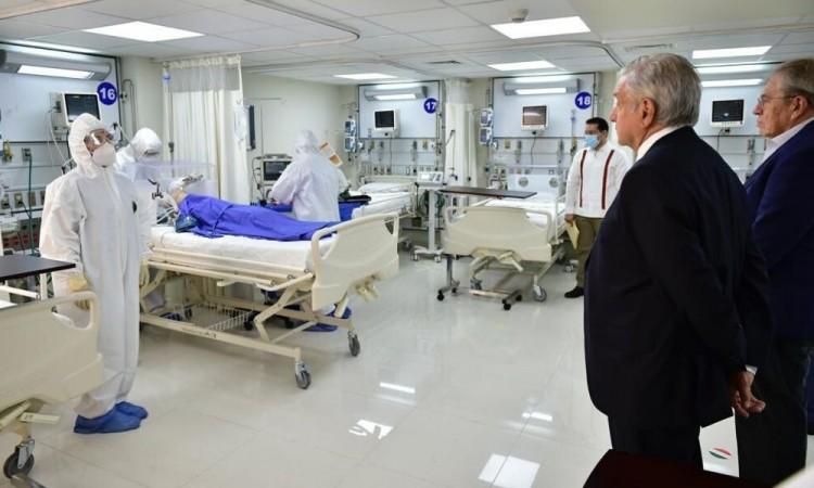 ISSSTE aclara que AMLO presenció simulacro de atención para pacientes Covid