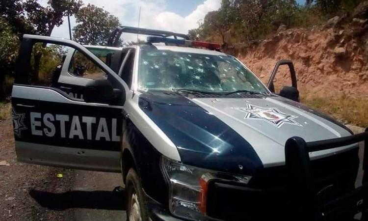 Matan a 6 policías en emboscada en Guerrero