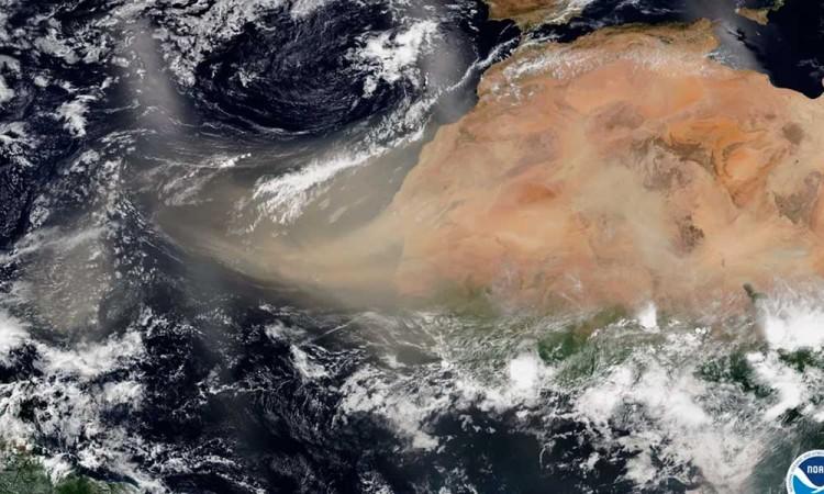 Nube de Sahara llegará a México el 23 de junio