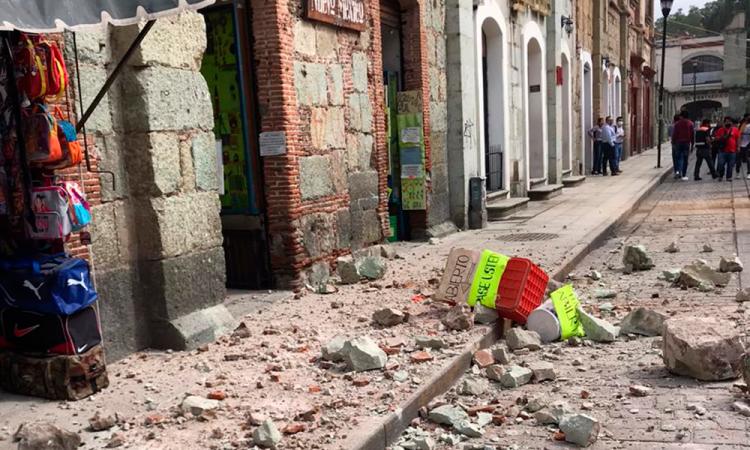 Van 4 muertos y 5 heridos por sismo en Oaxaca