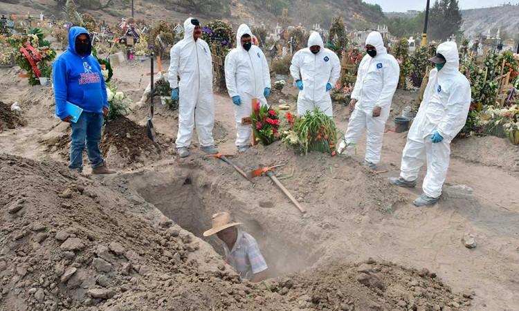 Mueren 24,324 mexicanos por la pandemia del Covid-19