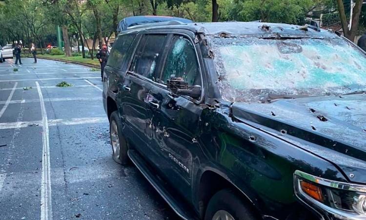 Mueren dos escoltas en atentado contra Omar García Harfuch