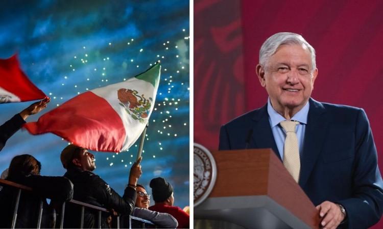 AMLO descarta cancelar ceremonia del Grito de Independencia por Covid