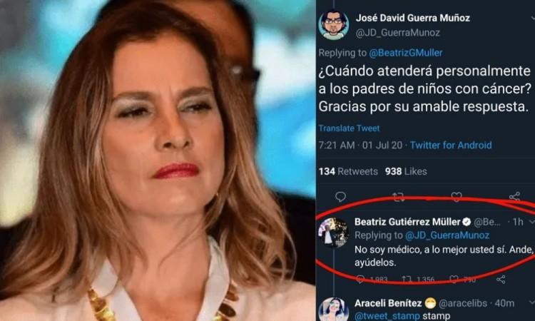 No soy médico: Beatriz Gutiérrez