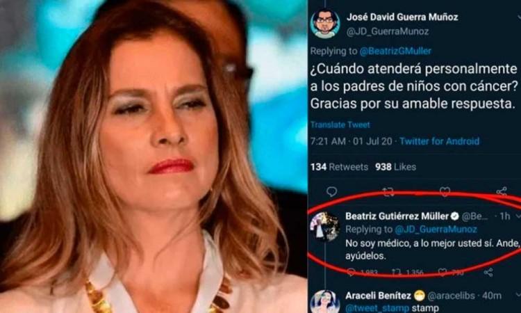 Si mi expresión ofendió a alguien, ofrezco disculpas: Gutiérrez Müller