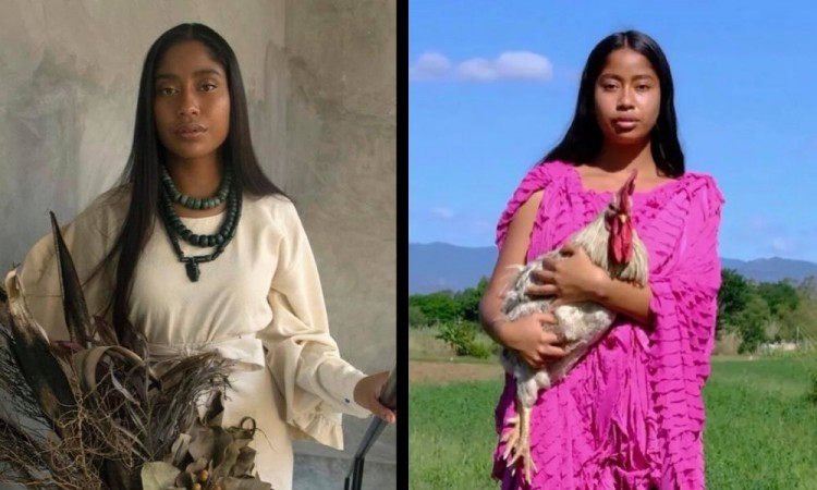 ¿Conoces a Karen Vega? Primera modelo oaxaqueña que enorgullece la portada de Vogue México