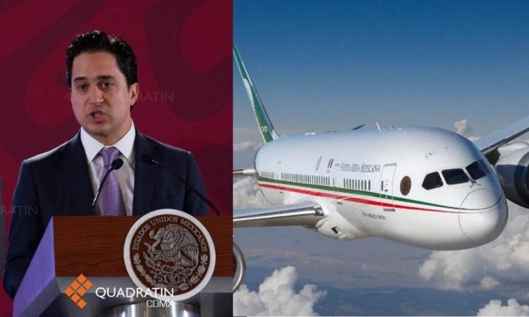 Hay una oferta sobre el avión presidencial: Jorge Mendoza