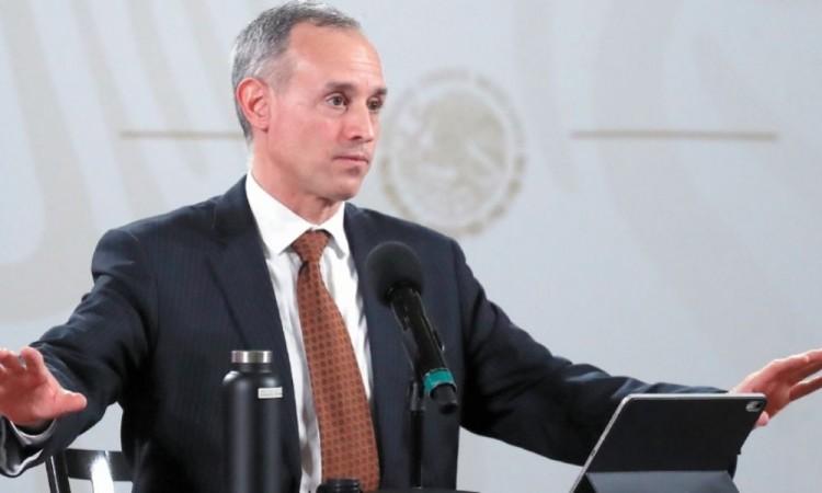 Velocidad de contagio de epidemia se ha reducido: Hugo López-Gatell