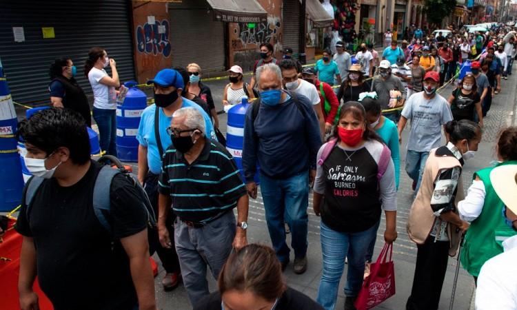 México registra 36 mil 906 muertos por Covid-19