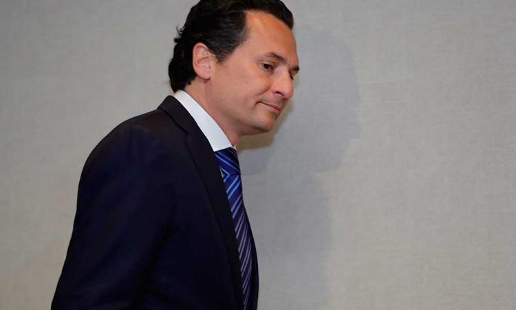 Emilio Lozoya ya vuela hacia México desde Madrid
