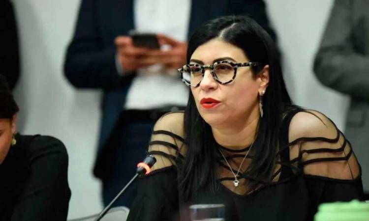 Senadora Vanessa Rubio, cercana a EPN, pide licencia para dejar su cargo