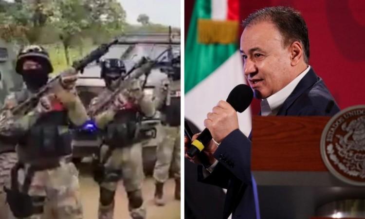Alfonso Durazo analiza veracidad de supuesto video del Cártel Jalisco