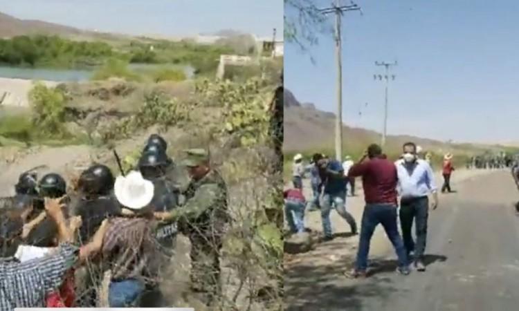 Guardia Nacional ataca a agricultores en Chihuahua