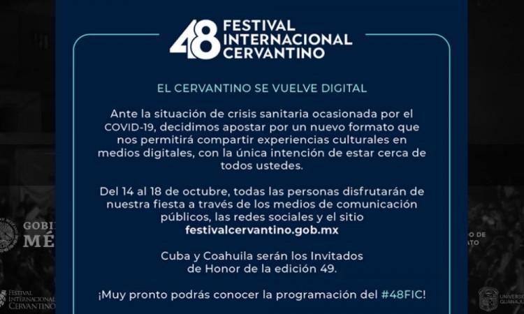 El Festival Internacional Cervantino es uno de los encuentros culturales más importantes del país.