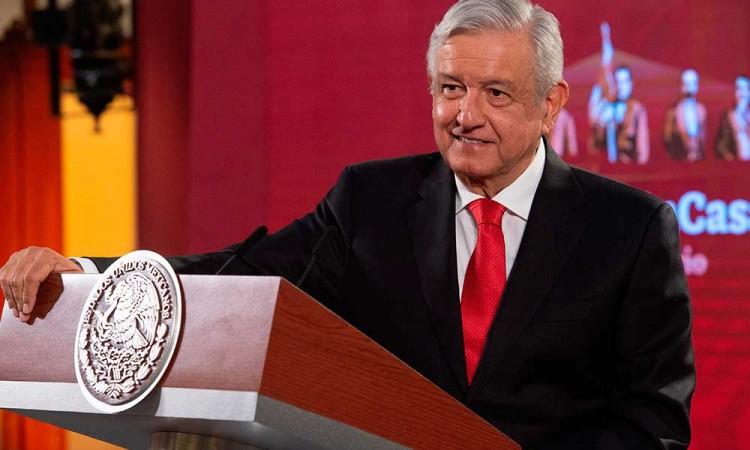 López Obrador prioriza 'cuidarse' antes que el uso de cubrebocas