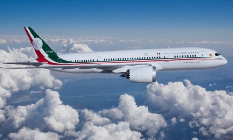 Regresará a México en las próximas horas, el avión presidencial