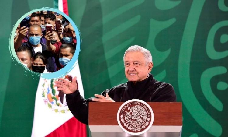 López Obrador dice que el efecto del cubrebocas no está demostrado
