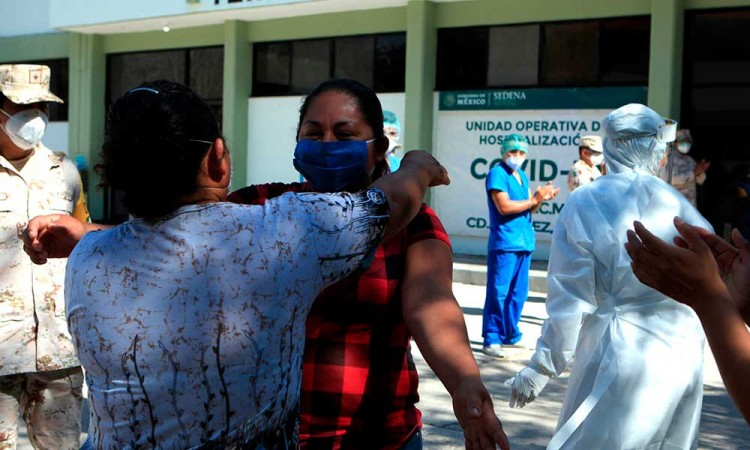 México rebasa a Perú y es sexto mundial de contagios por Covid-19