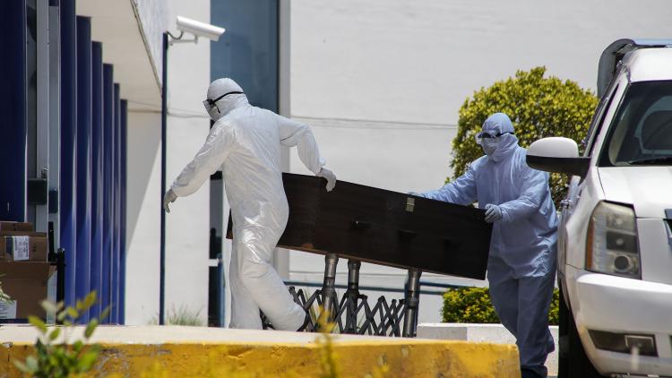 México supera las 43 mil muertes por COVID-19
