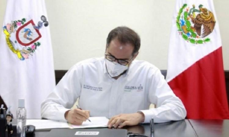 Propone gobernador de Colima hacer obligatorio el uso de cubrebocas