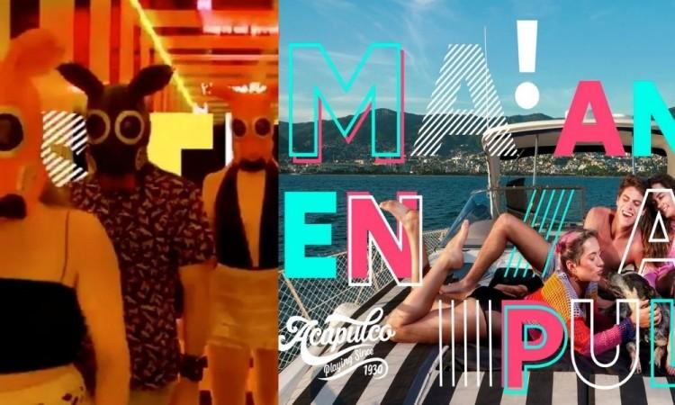 La polémica campaña de turismo 'Mom, Im in Acapulco' busca reactivar el turismo en el puerto