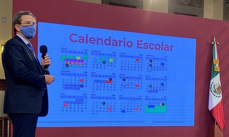 Presentan calendario escolar de la SEP para el ciclo 2020-2021