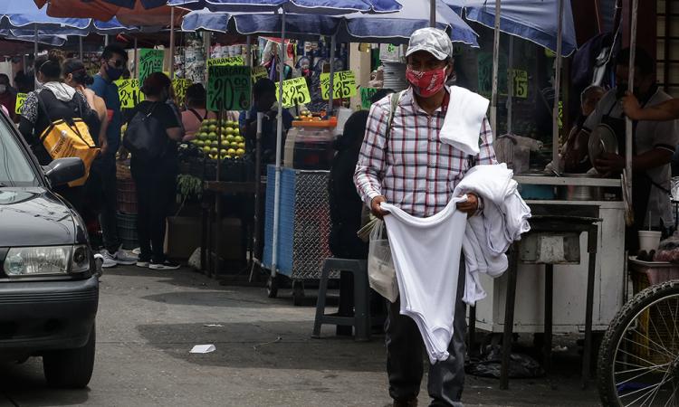 México supera 52 mil muertes y 475 mil contagios por COVID-19