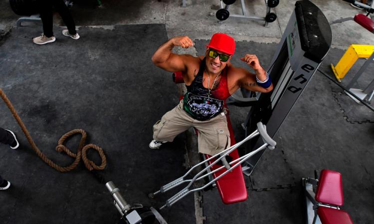 Paul Villafuerte entrena duro en Barras Praderas