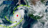 Elida se convierte en huracán categoría 1 en costas de México