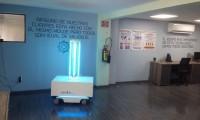 En Jalisco hospitales lucharan contra el coronavirus de la mano de un robot
