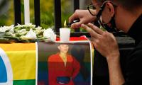 Se manifiestan para exigir justicia por Jonathan Santos