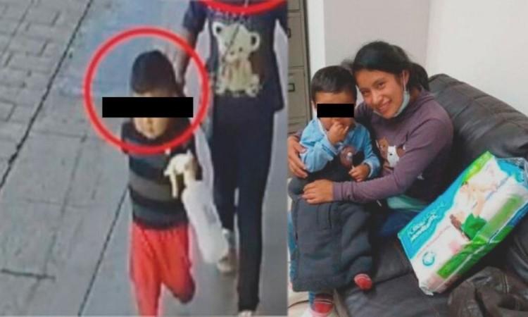 Localizan con vida a Dylan, el niño secuestrado en un mercado en Chiapas