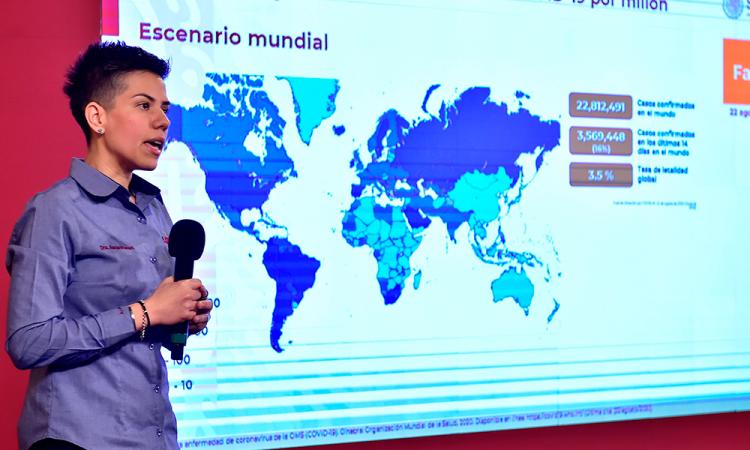 México rebasa las 60 mil muertes y 550 mil casos de COVID-19