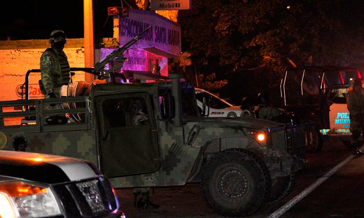 Tiroteo entre Policías y criminales deja 7 muertos en Celaya