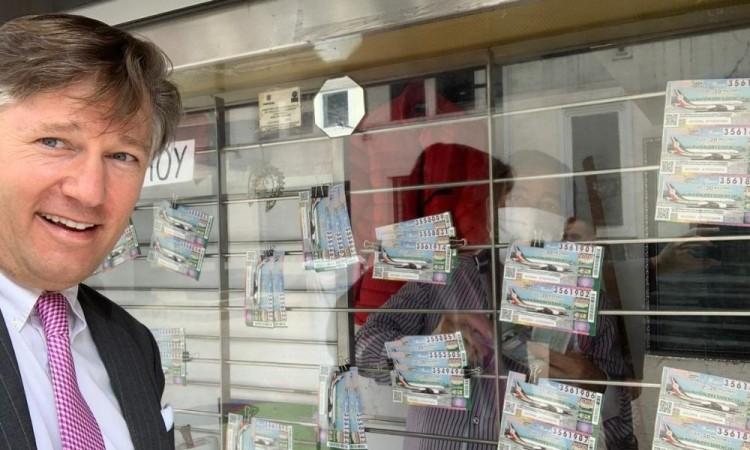 Lotería Nacional dijo que se han vendido más de 2 millones de billetes.