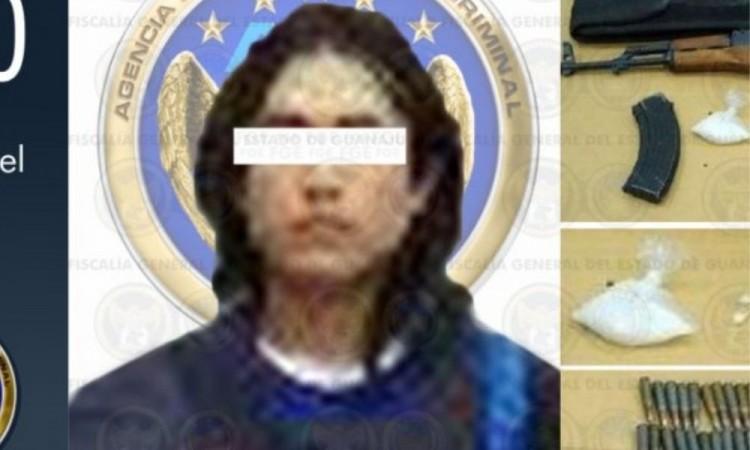 """Capturan a """"el Chelito"""" violento sicario del Cártel de Jalisco"""