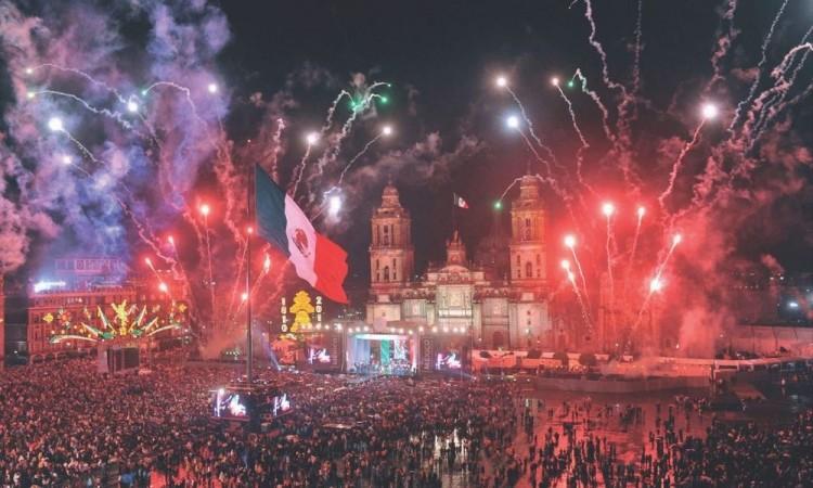 Habrá fuegos artificiales luego del Grito de Independencia.