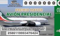 Llevan vendidos el 64 % de cachitos de la rifa del avión presidencial