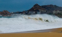Karina, la tormenta tropical que se forma al suroeste de Baja California