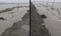 Reportan inundaciones en refinería Dos Bocas; Sener niega el hecho,  se encharca pero se seca
