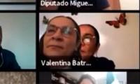 Diputada de Morena intenta escapar de una videollamada en Zoom y le sale mal