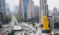 Los integrantes de FRENAAA solicitan gente  para ocupar tiendas de campaña sobre Paseo de la Reforma