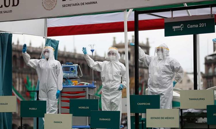 México contabiliza 75 mil 844 muertes por Covid-19