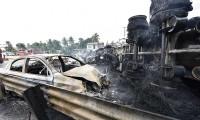 Explosión de pipa de gasolina mata a cuatro personas en Tabasco