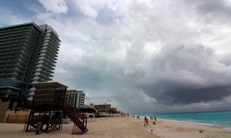 Tormenta tropical Gamma se forma cerca de la isla de Cozumel