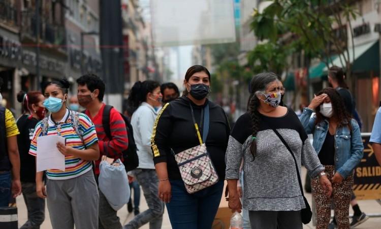 Ciudad de México registra la mayor incidencia de los casos acumulados del país.